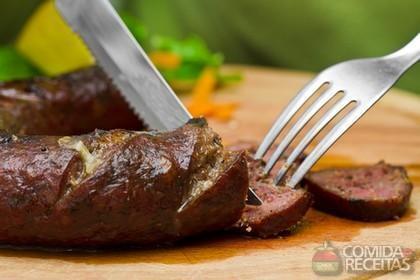 Receita de Linguiça cuiabana