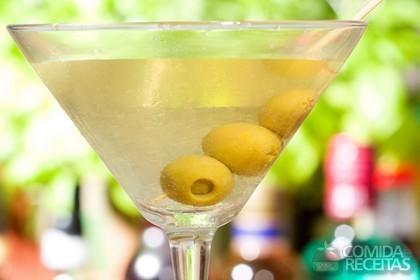 Receita de Martini Coquetel (seco)