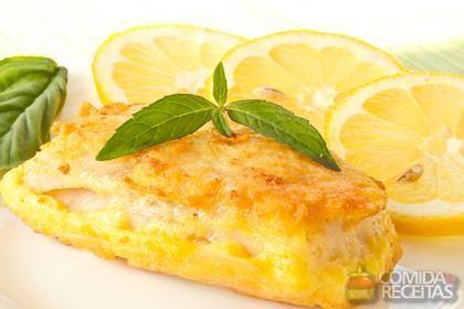 Receita de Filé de peixe assado com molho de limão