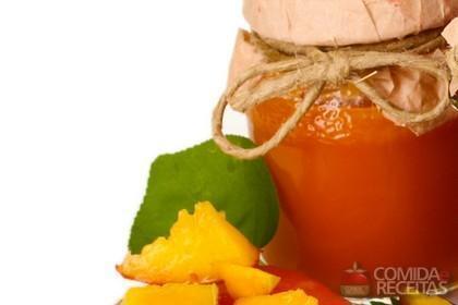 Receita de Geléia de manga e suco de laranja