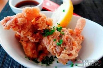 Receita de Karaage- frango frito japonês