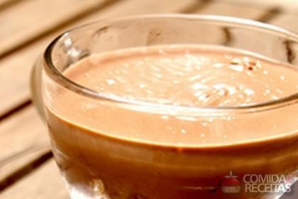 Receita de Pudim de chocolate com cereal