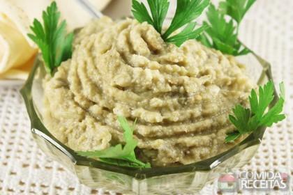 Receita de Baba ghannuge (pasta de berinjela)