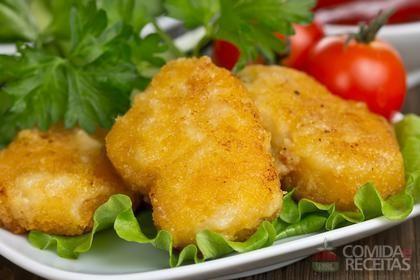 Receita de Bolinho de peixe para aperitivo