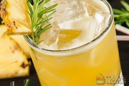 Receita de Coquetel de laranja e abacaxi