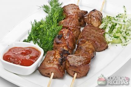 Receita de Kebab de cordeiro