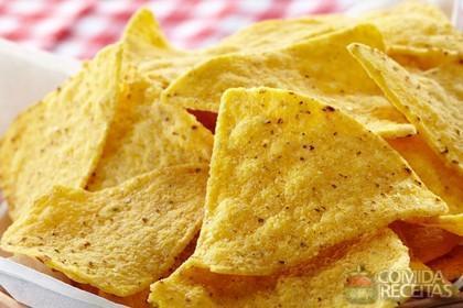 Receita de Nacho com queijo