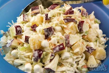 Receita de Salada coleslaw