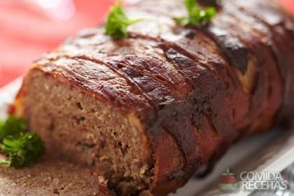Receita de Bolo de carne moída diferente