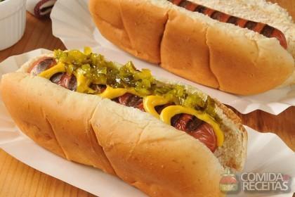 Receita de Hot dog incrementado