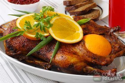Receita de Pato ao molho de laranja