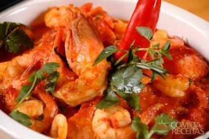 Receita de Guizo de pescado com lagostine