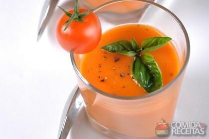 Receita de Batida de tomate especial