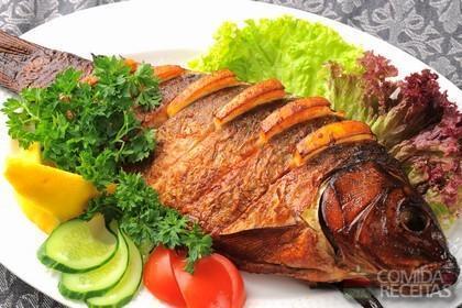 Receita de Tainha recheada - Comida e Receitas
