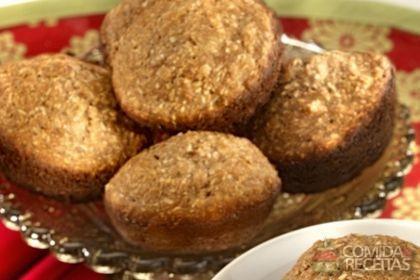Receita de Muffin de banana e coco
