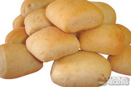 Receita de Pãozinho de arroz