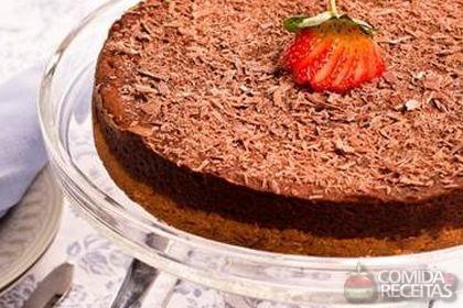 Receita de Cheesecake de chocolate especial