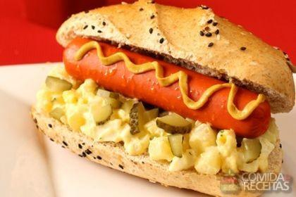 Receita de Hot dog alemão