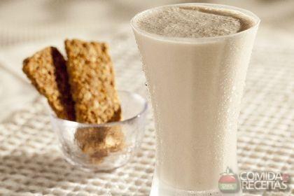 Receita de Shake de cappuccino com cereal