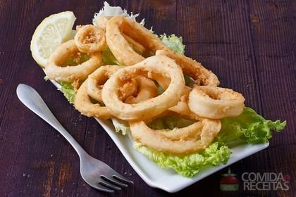 Receita de Rodelas de cebola empanadas