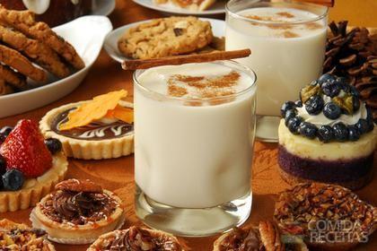 Receita de Batida de leite de coco