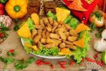 Receita de Berinjela frita alá Doritos