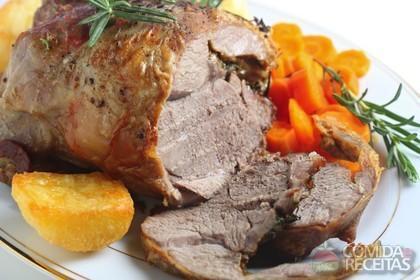 Receita de Carne assada