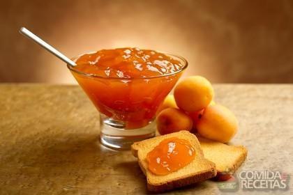 Receita de Geleia de pêssego e laranja