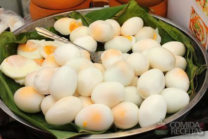 Receita de Ovo de codorna picante