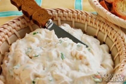 Receita de Patê de queijo e nozes