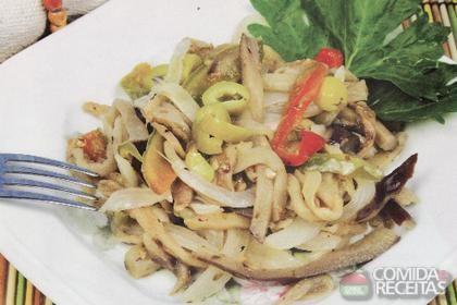 Receita de Salada de berinjela diferente