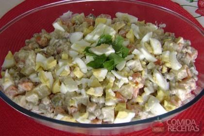 Receita de Salada russa especial