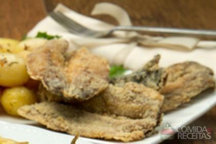 Receita de Sardinhas fritas