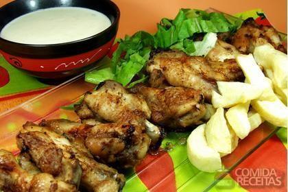 Receita de Sobrecoxas de frango ao molho delicioso