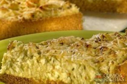 Receita de Torta de frango com creme de milho