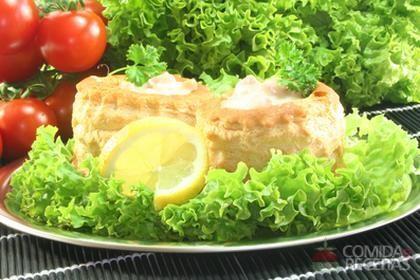 Receita de Torta fria de frango
