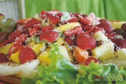 Receita de Salada de frutas italiana