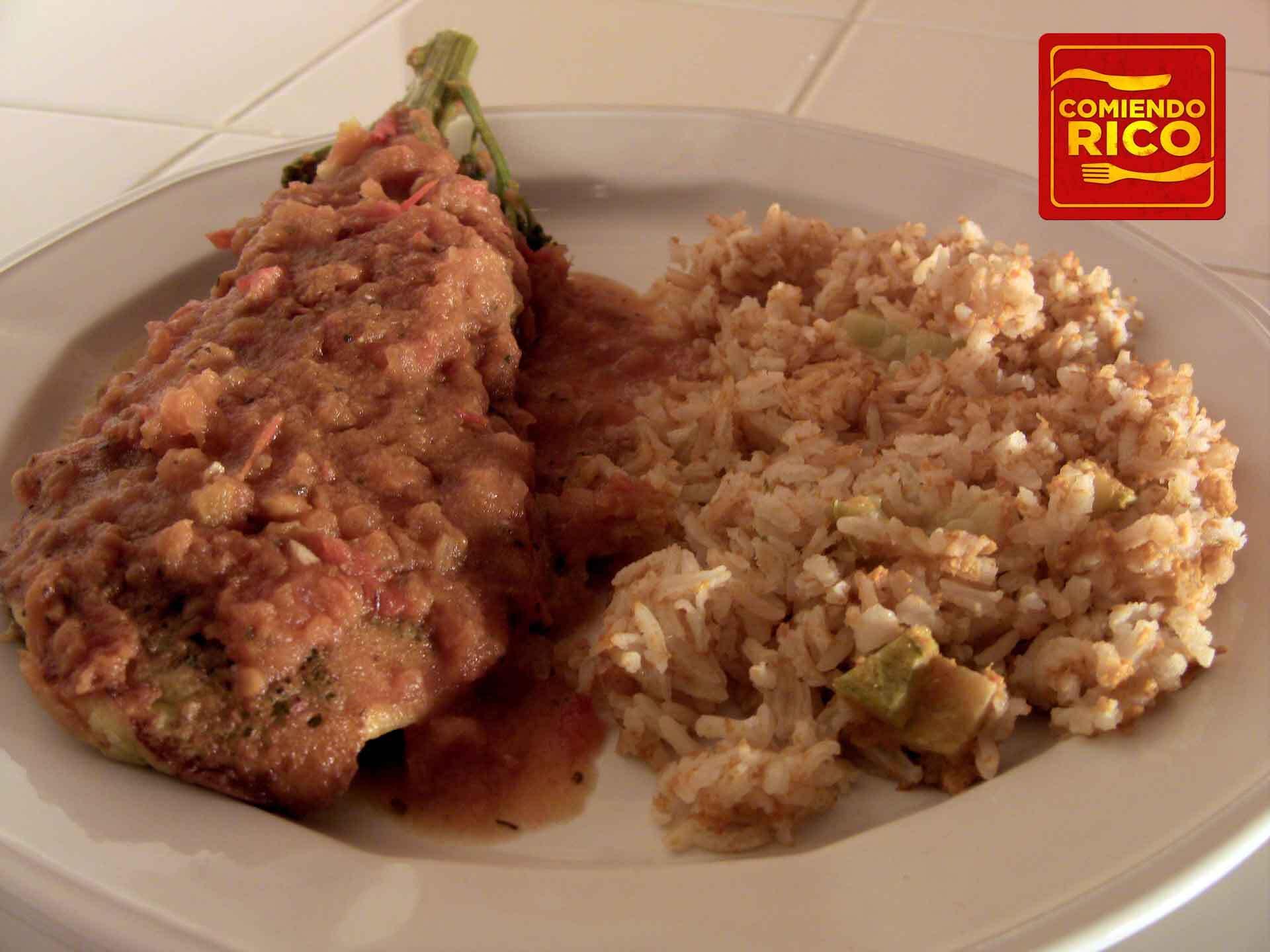 Huazontles – Comiendo Rico