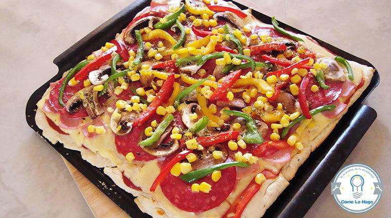Cómo hacer pizza casera