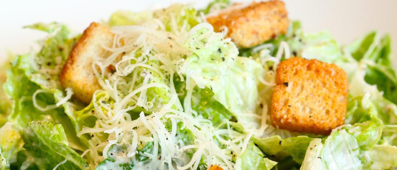 Salada Caesar, a origem