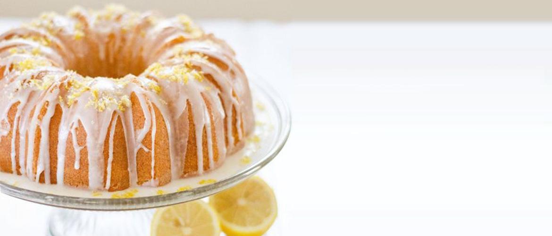 Bolo delícia de limão