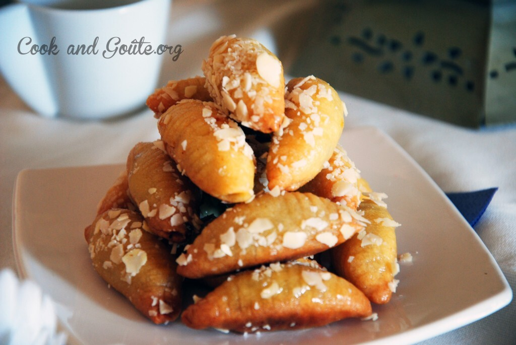 Makrout, célèbre gâteau algérien revisité