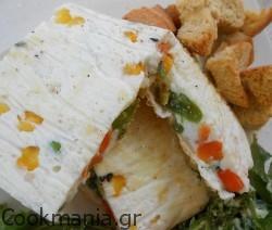 Φριτάτα με ασπράδια αυγών και λαχανικά