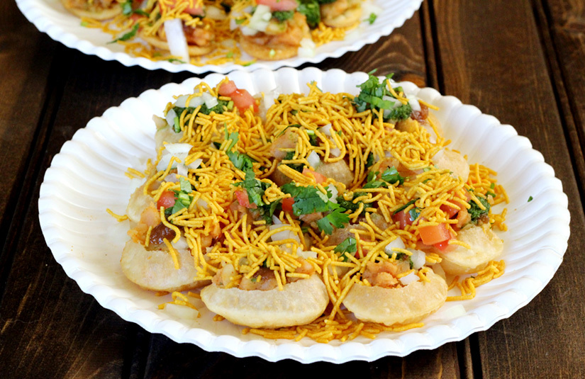 SEV PURI AND PAPDI CHAT