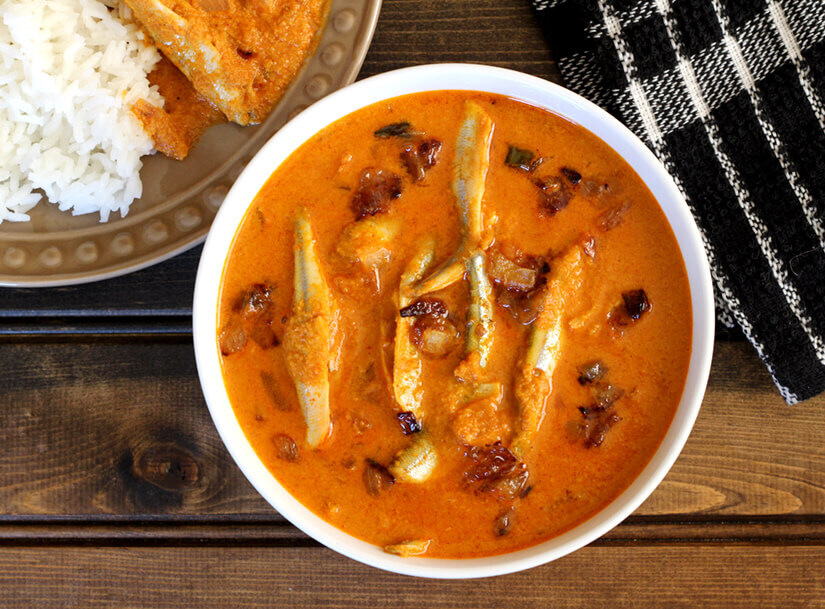 FISH IN GINGER ONION GRAVY