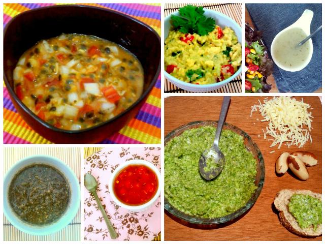 saladas receitas diferentes