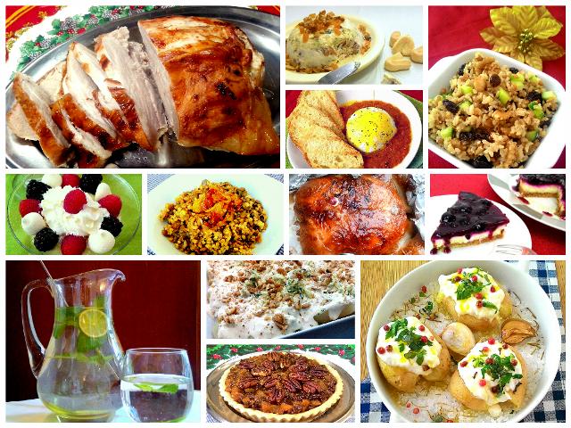 pratos práticos para ceia de natal