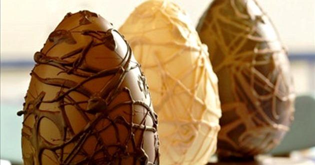Páscoa com chocolate de verdade