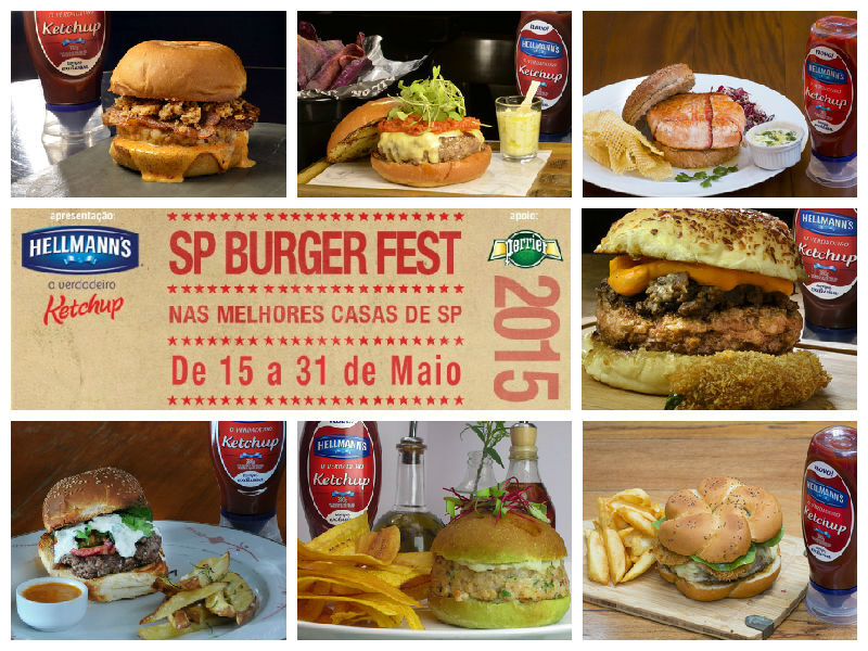 BurgerFest: 150 opções de hambúrgueres, virada gastronômica e aulas especiais