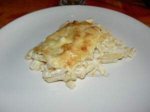 Gratin de macaronis de Cyril Lignac